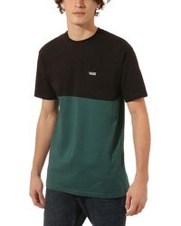 Vans Colourblock T-shirt - Grün