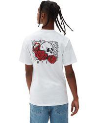 Vans Rose Bed T-shirt - Weiß