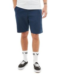 "Vans "" Authentic Stretch Shorts 20"""" - Blauw"