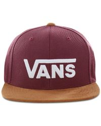 Vans Drop V Ii Snapback-kappe - Rot