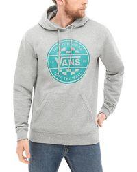 Vans Retro Tall Type Sweatshirt Mit Rundhalsausschnitt - Grau