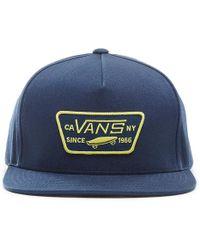 Vans Cappellino Da Baseball Full Patch - Blu