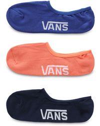 Vans Classic Super No Show Socken - Mehrfarbig