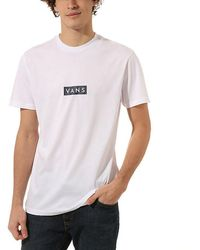 Vans - Easy Box T-shirt - Lyst