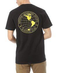 Vans - T-shirt X National Geographic Globe - Lyst