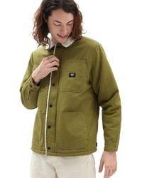 Vans Drill Chore Coat Sherpa Jacket - Green