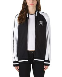 Vans X Karl Lagerfeld Bomber Fleece - Black