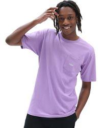 Vans Camiseta Color Multiplier Off The Wall - Morado