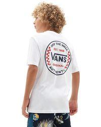 Vans - Jungen Authentic Checker T-shirt - Lyst