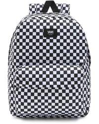 Vans 's Old Skool Check Backpack - Black