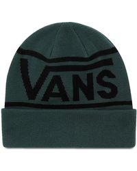 Vans Drop V Stripe Beanie-mütze Mit Umschlag - Grün