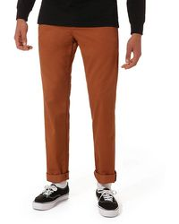 Vans Authentic Chino Stretch Trousers - Orange