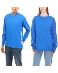 Vans Centrl Langarmshirt - Blau