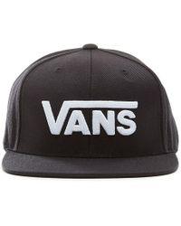Vans Drop V Snapback-kappe - Schwarz