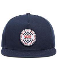 Vans Og Checker Snapback-kappe - Blau