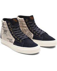 Vans Mystic Sk8-hi Schuhe - Blau