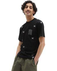 Vans New Varsity T-shirt - Schwarz
