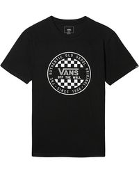 Vans Og Checker T-shirt - Schwarz