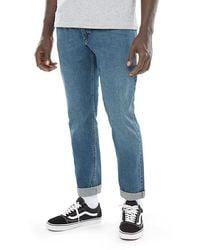 Vans V46 Vintage Blue Taper Jeans - Blau