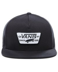 Vans Full Patch Snapback Kappe - Schwarz