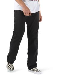 Vans Authentic Chino Relaxed Trousers - Black