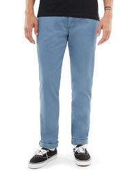Vans Authentic Chino Stretch Hose - Blau