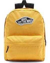 Vans Realm Backpack Rucksack - Gelb