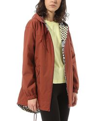 Vans Mercy Revirsible Parka - Rood