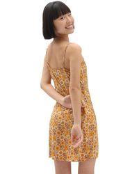 Vans Vestito Trippy Floral - Giallo