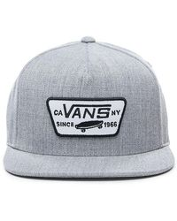 Vans Full Patch Snapback Kappe - Grau