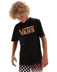 Vans - Jungen Classic Logo Fill T-shirt - Lyst