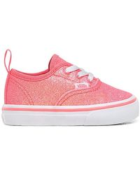 Vans Kleinkind Neon Glitter Elastic Laces Authentic Schuhe - Pink