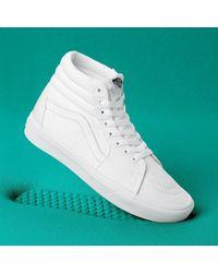 Vans Sk8-Hi - Baskets - Blanc