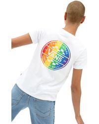 Vans Pride T-shirt Met Ronde Hals - Wit