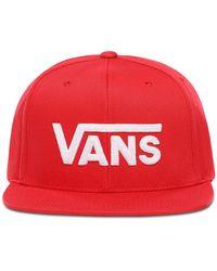 Vans Drop V Ii Snapback Pet - Rood