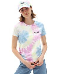 Vans Spiraling Wash Baby T-shirt - Pink