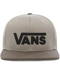 Vans Casquette Drop V Snapback - Vert