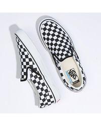 Vans - Checkerboard Slip-on Pro Personnalisées - Lyst