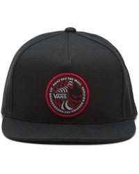 Vans X Spitfire Snapback Hat - Black
