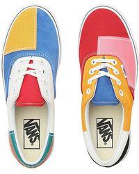 Vans Chaussures Patchwork Era - Bleu