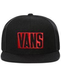 Vans New Stax Snapback-kappe - Schwarz