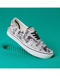 Vans X Harry Pottertm Daily Prophet Comfycush Era Schoenen - Wit