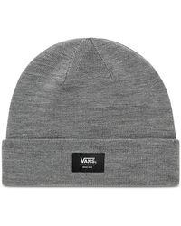 Vans Mte Beanie-mütze Mit Umschlag - Grau