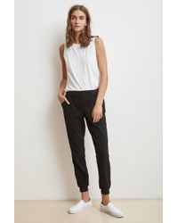 Velvet By Graham & Spencer - Catelyn JOGGER Pant - Lyst