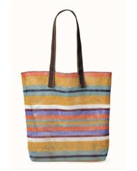 Epice Large Mesh Tote By - Multicolor