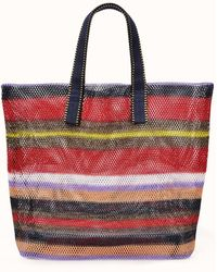 Epice Small Mesh Tote By - Red