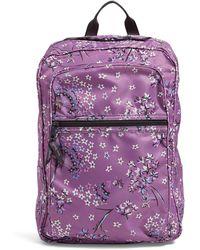 Vera Bradley Packable Backpack - Purple