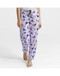 Vera Bradley Lightweight Jogger Pajama Pants - Multicolor
