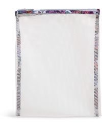 Vera Bradley Mesh Wash Bag - White