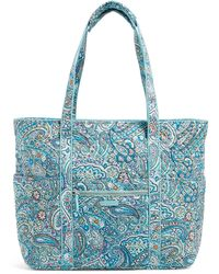 Vera Bradley Get Carried Away Tote Bag - Blue